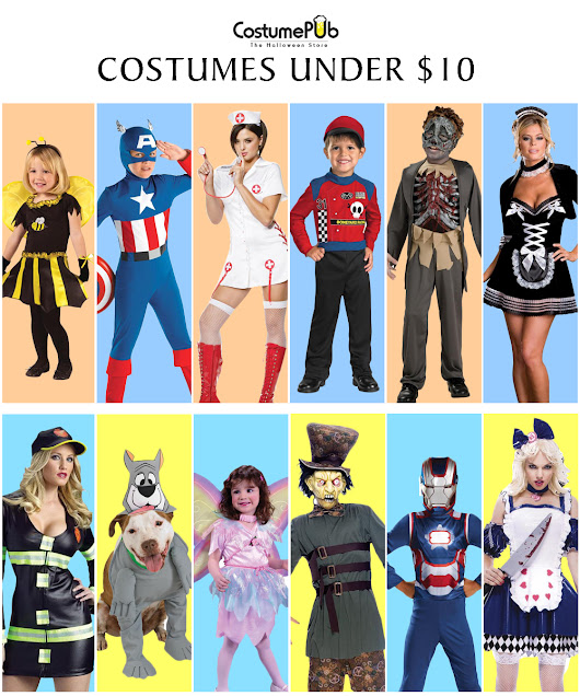 Popular Halloween Costumes Sale Under $10