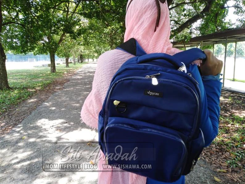 Joylee Olber Series Traveller Backpack - Beg Galas Isi Barang Bayi Yang Ohsem!