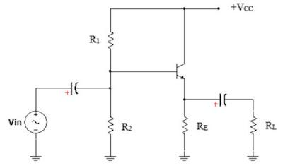 Transistor sebagai Penguat Kolektor (Common Colector)