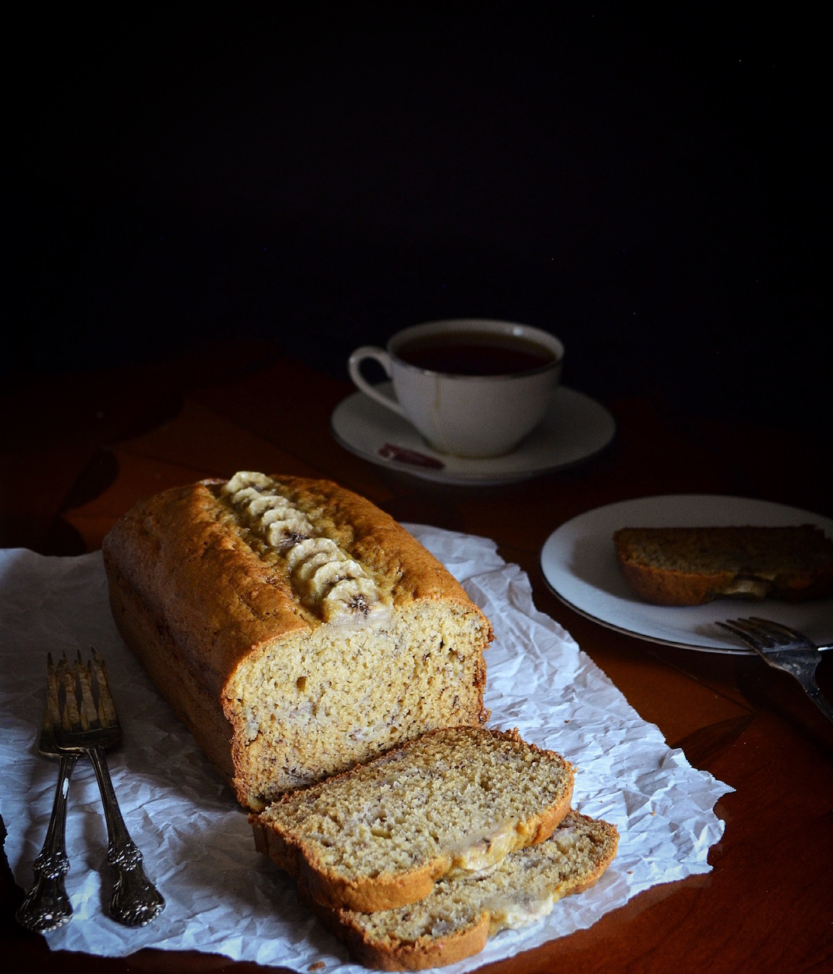 High Altitude Banana Bread by Rebecca Sherrow