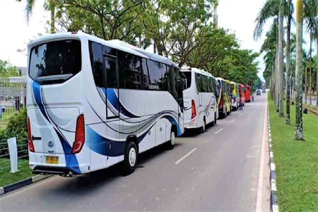 Sewa Bus 28 Seat Tanjung Pinang dan Bintan