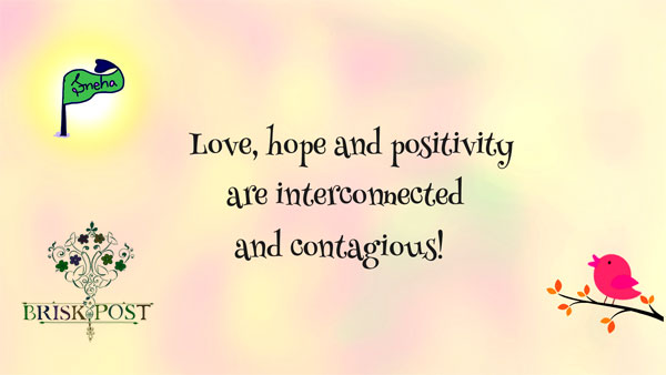 Meaning of Positive Attitude: 3 Simple Rules of Positivity, love and hope