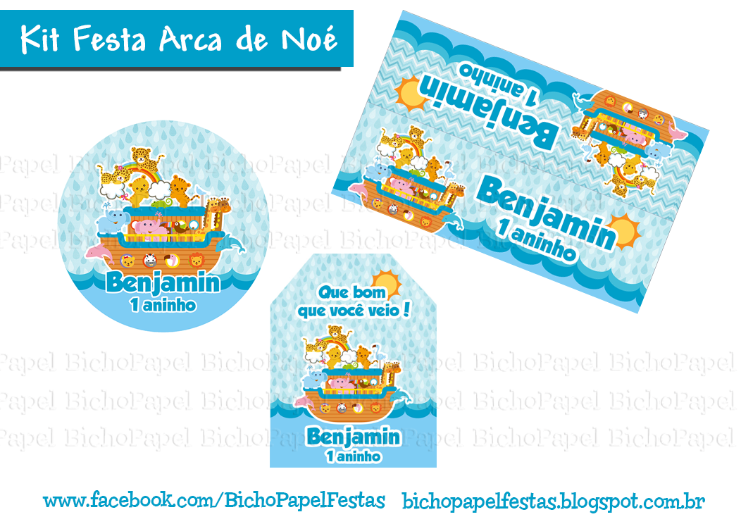 Kit Festa Arca de Noé