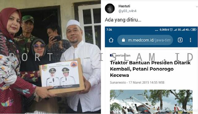 Kasus Tarik Bantuan, Warganet Bandingkan Bupati Jember dan Jokowi: Ada yang Ditiru