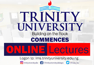 COVID-19: Trinity University Begins Online Teaching 2019/2020