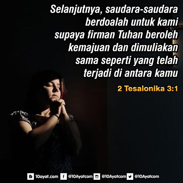 2 Tesalonika 3:1