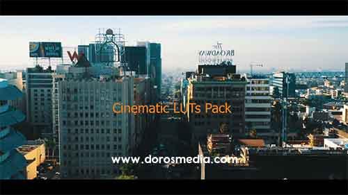 أنماط لونية سينمائية إحترافية جديدة لبرامج المونتاج Cinematic LUTs Pack V2.00 | 10 FREE LUT PRESETS TO DOWNLOAD