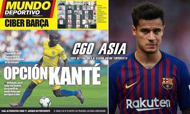 Rencana tukar guling Barcelona dengan Chelsea. - Rumahsport.com
