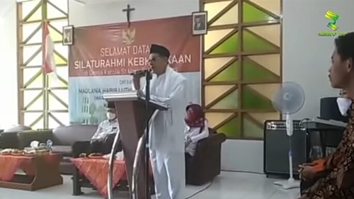 Viral Habib Luthfi Ceramah di Gereja, Netizen: UAS Kemana Tuh