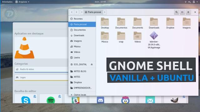 Ubuntu GNOME Vanilla 18.04 LTS