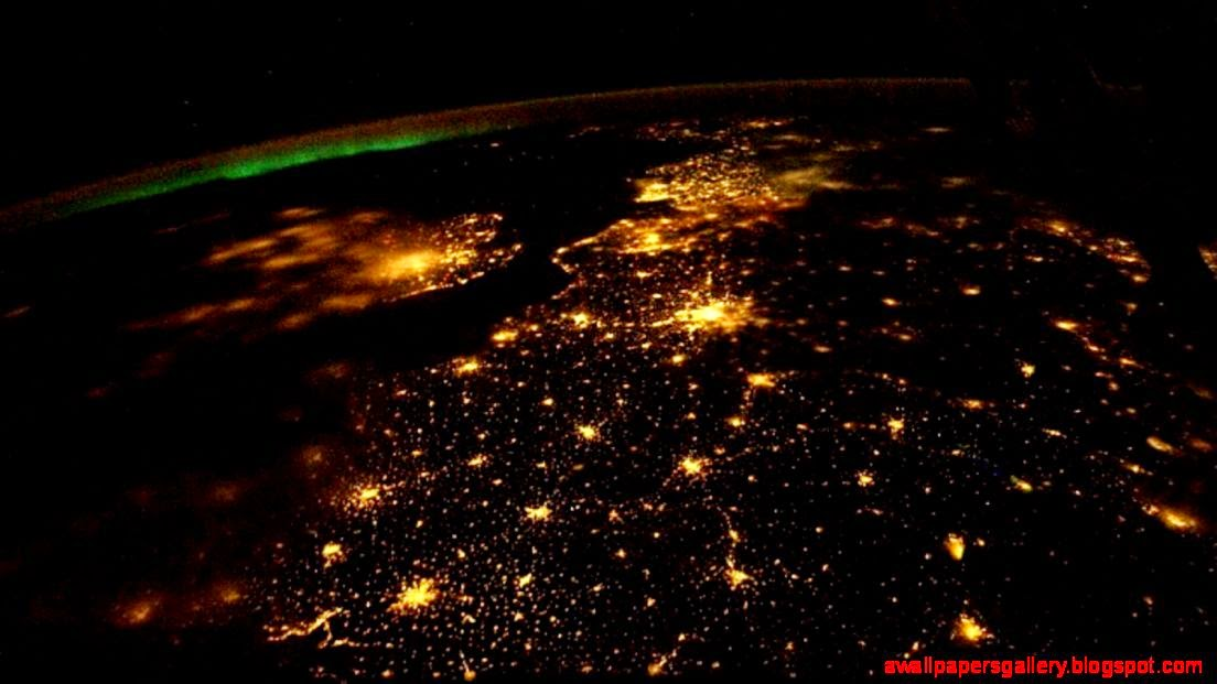 Earth At Night From Space Wallpaper | Wallpapers Gallery