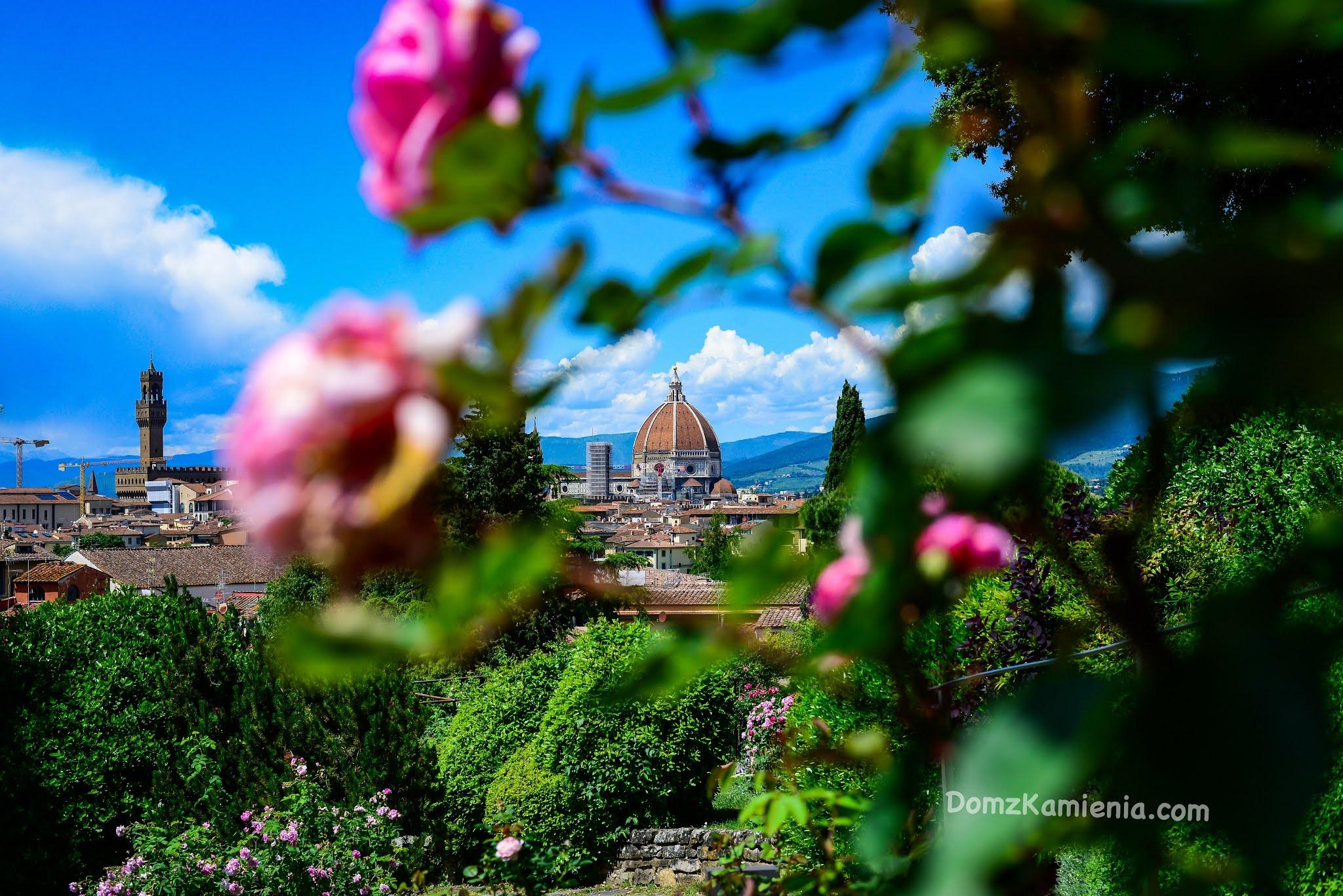 Florencja Ogród Róż - Blog Dom z Kamienia