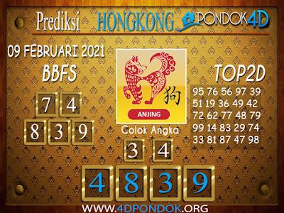 Prediksi Togel HONGKONG PONDOK4D 09 FEBRUARI 2021