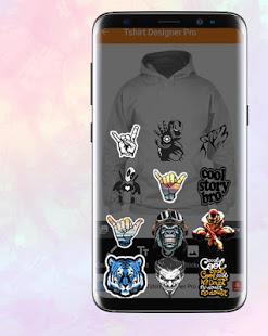 Aplikasi Android T-shirt Designer Pro Gratis untuk Desain Baju dan Kaos