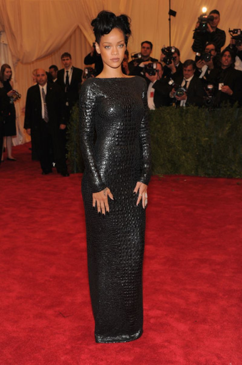 Dear Fashion Diaries Rihanna 2012 Met Gala May 7