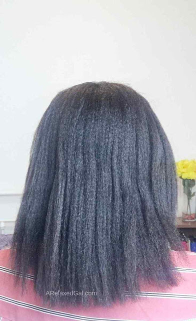 Relaxer Touch-up Results After 16 Week Stretch | A Relaxed Gal