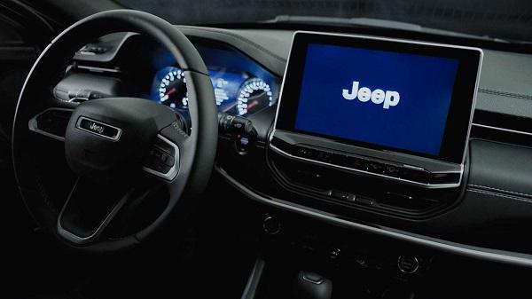 Interior Jeep Compass 2022