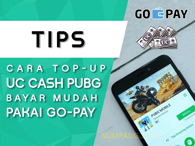 Cara Beli UC Cash PUBG Mobile Menggunakan GO-PAY