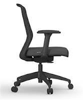 Cherryman Atto Chair - Side Profile