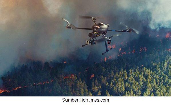 drone bencana alam