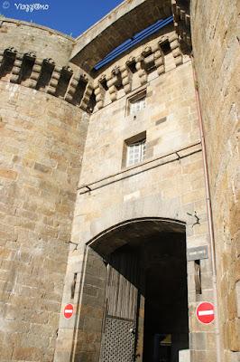 La Grand Porte è una delle porte di accesso alla città murata di Saint Malo