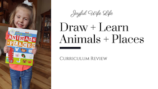 Draw and Learn Animal and Places