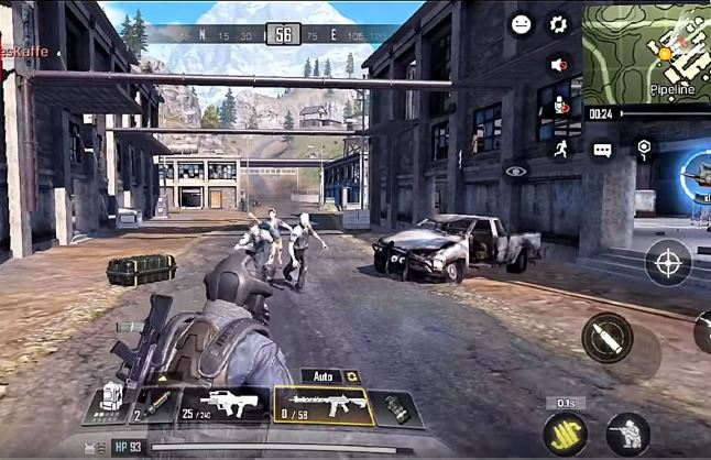 Call Of Duty Mobile 1.0.3 beta apk+obb download