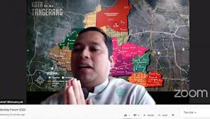 Walikota Tangerang Jadi Pembicara Banten Milenials Leadership Forum Bank Indonesia