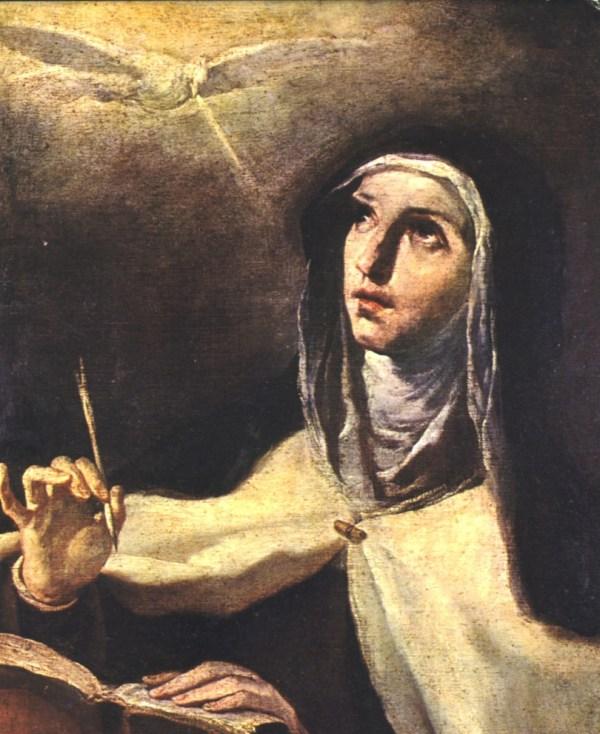 LE SAINT ABANDON (Dom Vital Lehodey)  - Page 10 Santa-Teresa-Velazquez-recortada