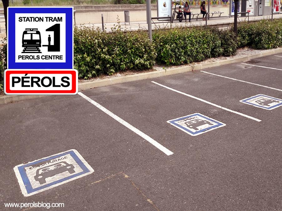 Parking covoiturage à Pérols
