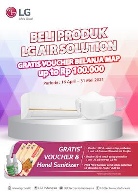 promo AC LGDUALCOOLL with Watt Control