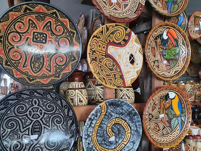Ilha de Marajó centros de artesanato