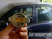 Fungsi dan permasalahan tutup radiator bisa mengakibatkan mobil Overheat