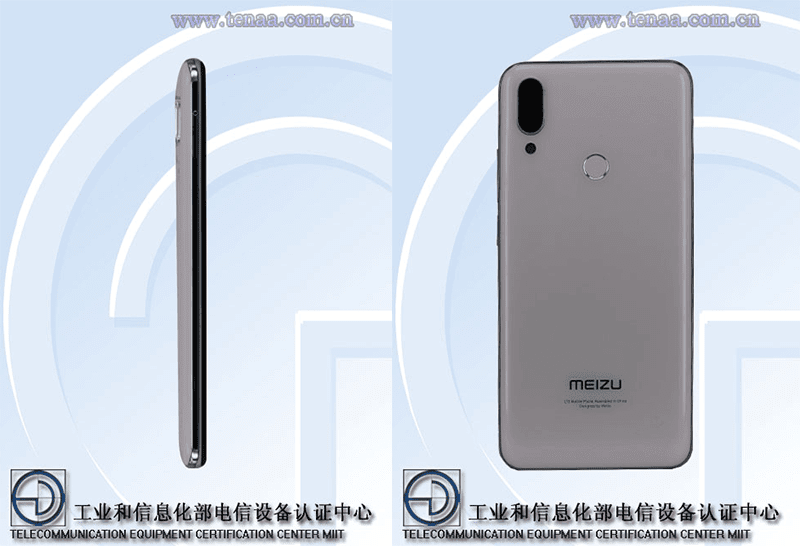 It has a fingerprint scanner at the back and not at the sides as speculated