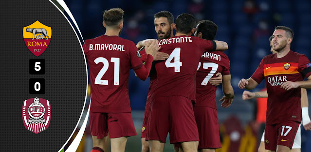 Roma vs CFR Cluj – Highlights