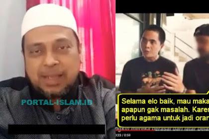Heboh Video Restoran Babi, Ustadz Haikal: Betul-betul Nyari Gara-gara Nantangin Umat Islam