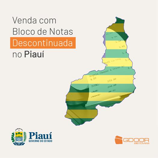 Atenção empresários e contadores: Venda com Bloco de Notas Descontinuada no Piauí