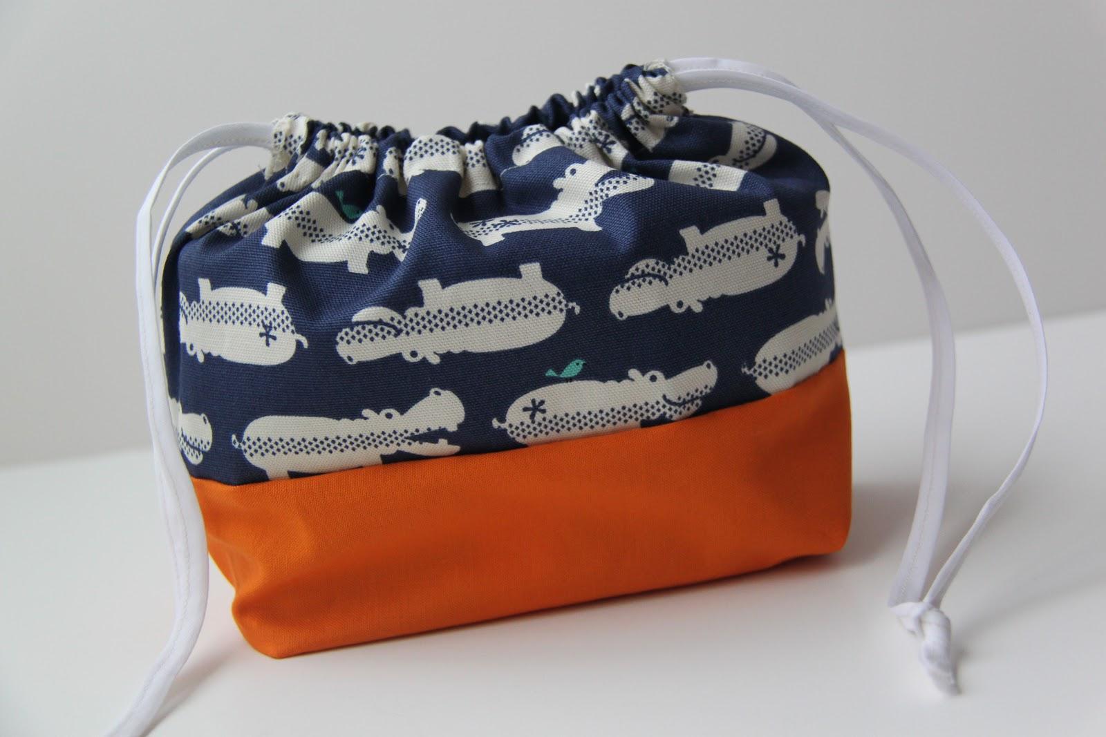 Tutorial Diy Bento Lunch Bag Smashed Peas Amp Carrots