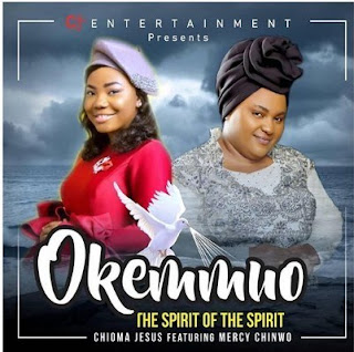 "Popularly known Nigerian Gospel songstress and pastor Chioma Jesus joint forces together with amazing singer Mercy Chinwo as they debuts their official new single titled ""Okemmuo""."