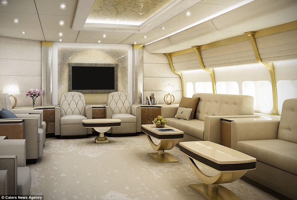 PHOTOS: Billionaire Just Spent $627 Million Pimping Out A Boeing-747. When I Saw The Inside? RIDICULOUS.