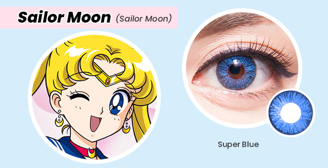 colored contacts for sailor moon cosplay