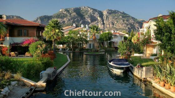 Gocek, Turkish attractions: