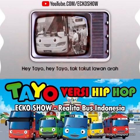 Lirik Lagu Tayo Versi Hip Hop
