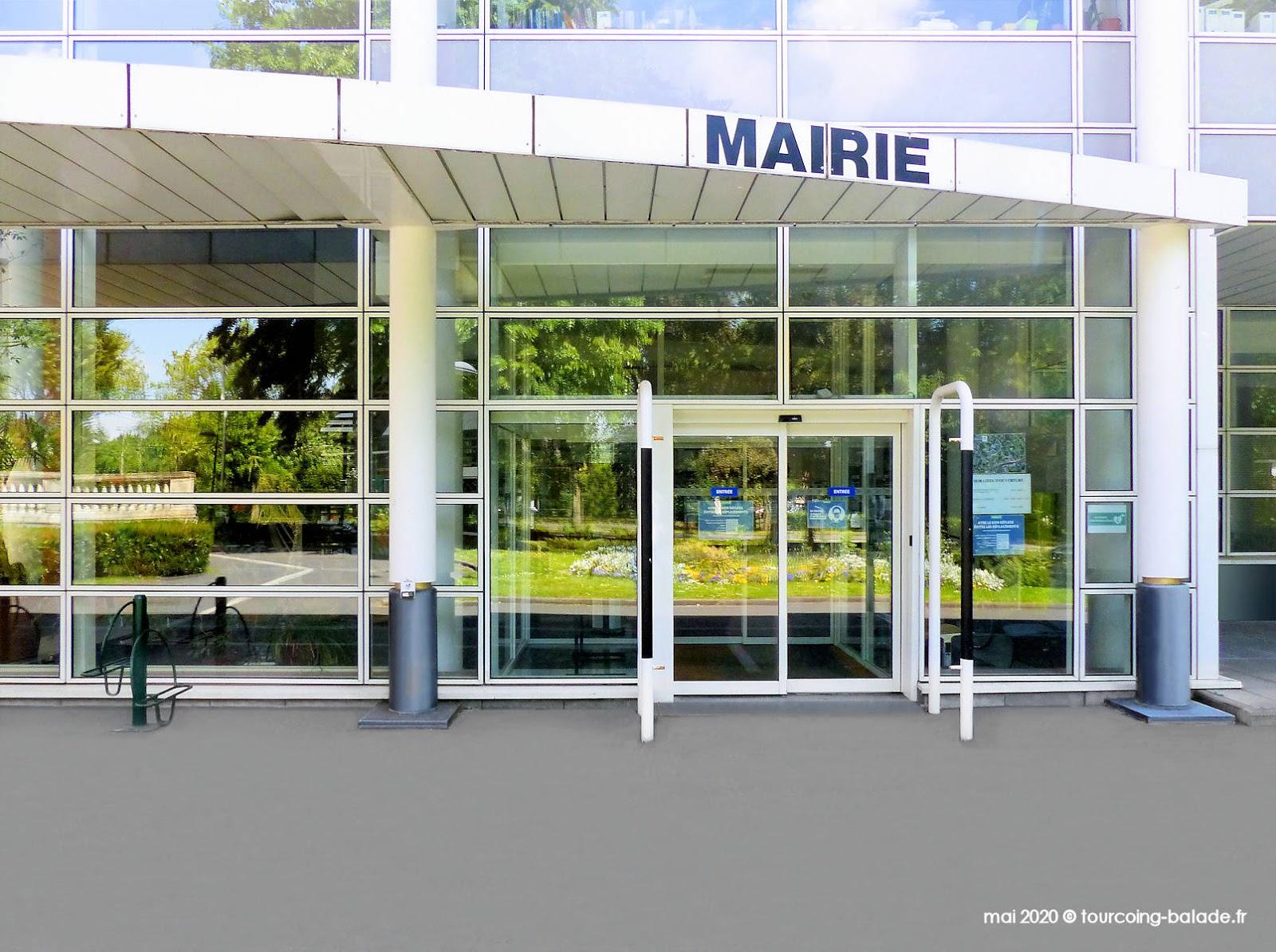 Accueil de la Mairie de Mouvaux, 2020