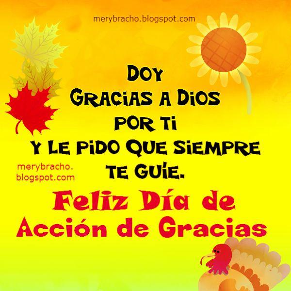 imagen feliz dia de acción gracias happy thanksgiving en español