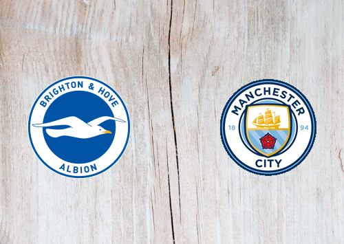 Brighton & Hove Albion vs Manchester City -Highlights 11 July 2020
