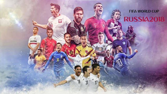 World Cup 2018 Start Screen PES 2017