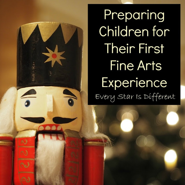 Preparing children for their first fine arts experience