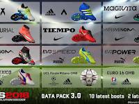 PES 2016 Bootpack dari DLC 3.0