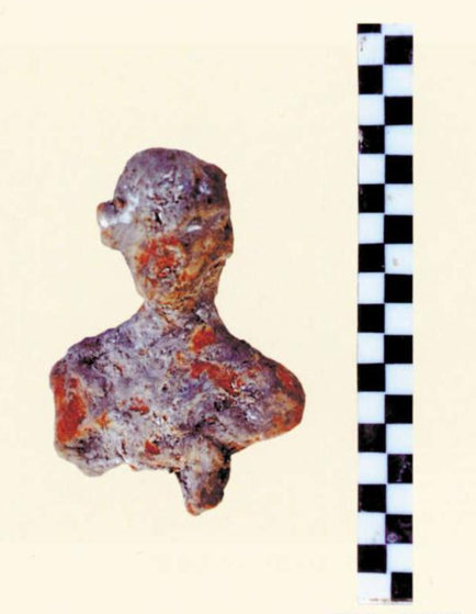 Prehistoric pottery figurines unearthed in central China
